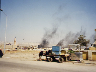 Outskirts of Cairo 1988 - Michelle Basic Hendry