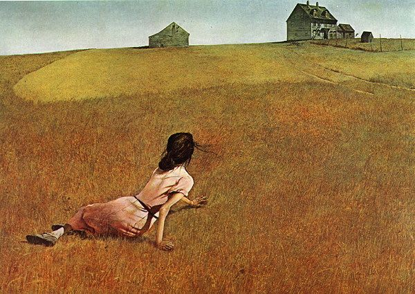 Christina's World - Andrew Wyeth