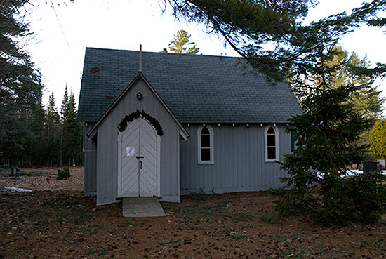 Small Church in Muskoka