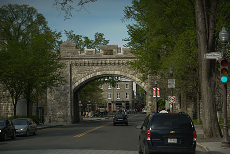 Wall of Old Quebec