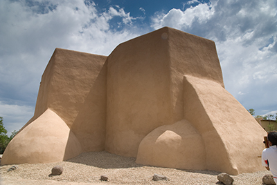 Photo reference for St. Francis de Asis. I took this one on a trip to Taos last year. (2012)